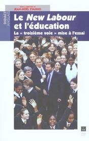 Le new labour et l'education la