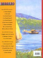 Biggles héritage t.2 ; le vol du condor - 4ème de couverture - Format classique