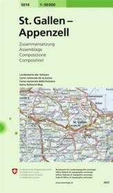 St. Gallen-Appenzell - Couverture - Format classique
