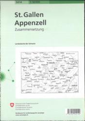 St. Gallen-Appenzell - 4ème de couverture - Format classique