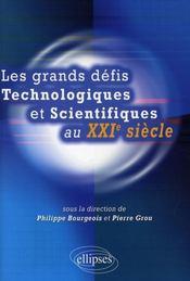 Grands défis technologiques et scientifiques au XXI siècle - Intérieur - Format classique