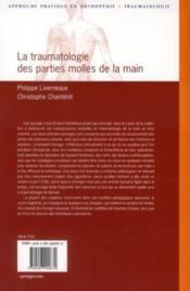 La traumatologie des parties molles de la main - 4ème de couverture - Format classique