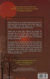 Lune rouge - 4ème de couverture - Format classique
