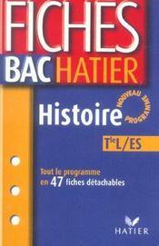 Fiches Bac T.2 - Intérieur - Format classique