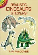 Realistic dinosaurs stickers - Couverture - Format classique