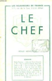 Le Chef N° 233 Mrs 1943 - Couverture - Format classique
