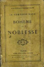 Boheme Et Noblesse. - Couverture - Format classique