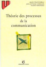 Theorie Des Processus De Communications - Couverture - Format classique