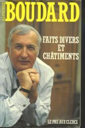 Faits Divers Et Chatiments - Couverture - Format classique