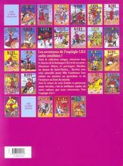 Lili t.23 ; Lili aux Indes - 4ème de couverture - Format classique