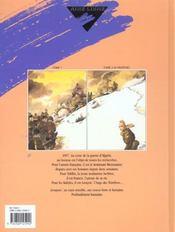 Azrayen' T.1 - 4ème de couverture - Format classique