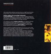 Immunologie - 4ème de couverture - Format classique