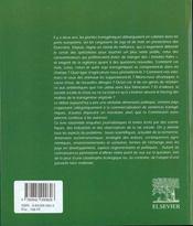 Plantes Transgeniques - 4ème de couverture - Format classique