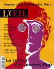 L'Oeil 524 (Mars 2001) - Couverture - Format classique
