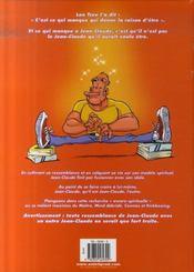 Ze world selon Jean-Claude t.1 ; philosophie, karaté, déconnage - 4ème de couverture - Format classique