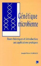 Genetique microbienne - Couverture - Format classique