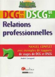 telecharger Relations professionnelles – DCG 13 et DSCG 7 livre PDF/ePUB en ligne gratuit
