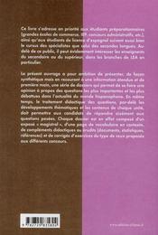 Españoles y latinoamericanos en le mundo de hoy ; manuel de civilisation espagnole et latino-américaine - 4ème de couverture - Format classique