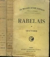 Les Cinq Livres De F. Rabelais Avec Notes Et Glossaire. En 2 Tomes. - Couverture - Format classique