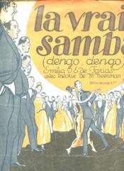 La Vraie Samba Dengo Dengo ( Partition) - Couverture - Format classique