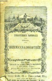 Hermann Et Dorothee - Poeme En Ix Chants. - Couverture - Format classique