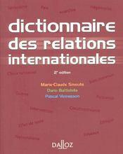 Dictionnaire des relations internationales (2e édition) - Intérieur - Format classique
