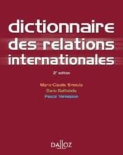 Dictionnaire des relations internationales (2e édition) - Couverture - Format classique