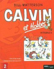 Calvin et Hobbes ; INTEGRALE VOL.2 ; T.11 ET T.12 - Intérieur - Format classique