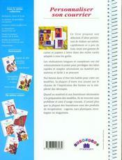 Personnaliser son courrier - 4ème de couverture - Format classique