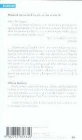 Manuel universel d'éducation sexuelle - 4ème de couverture - Format classique