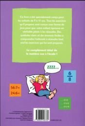 Ribambelle de jeux et d'exercices ; lire, écrire et calculer sans faute - 4ème de couverture - Format classique