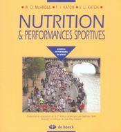 Nutrition et performances sportives - Intérieur - Format classique