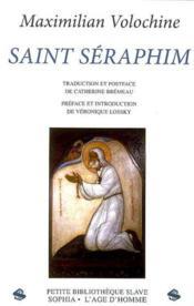 Saint séraphim - Couverture - Format classique