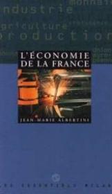 L'economie De La France - Couverture - Format classique