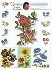 Creer Avec Des Graines - Fleurs Et Bouquets T4 - 4ème de couverture - Format classique