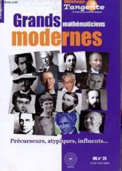 Grands mathematiciens modernes - Couverture - Format classique