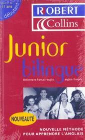 Junior bilingue anglais - Couverture - Format classique