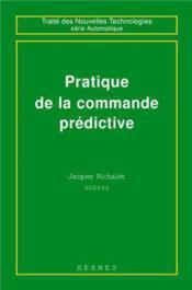 Pratique de la commande predictive - Couverture - Format classique