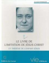 Le livre de l'imitation de Jésus-christ et sainte Thérèse de l'enfant-Jésus - Couverture - Format classique