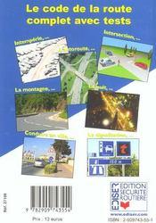 Le Guide Du Conducteur - 4ème de couverture - Format classique