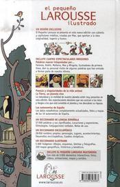El pequeño Larousse ilustrado (édition 2007) - 4ème de couverture - Format classique