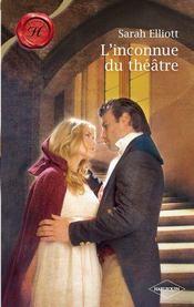 L'inconnue du théâtre - Couverture - Format classique