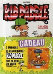Kid paddle n.4 ; full métal casquette - Intérieur - Format classique