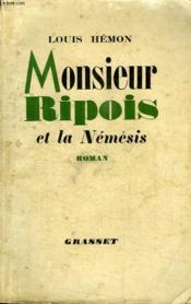 Monsieur Ripois Et La Nemesis. - Couverture - Format classique