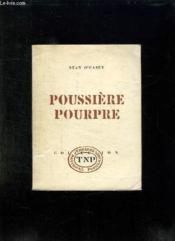 Poussieres Poupre. - Couverture - Format classique