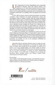 Les Patrons Du Second Empire T10 Picardie - 4ème de couverture - Format classique