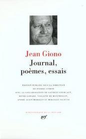 Journal, poèmes, essais - Intérieur - Format classique