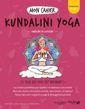 MON CAHIER ; kundalini yoga - Couverture - Format classique