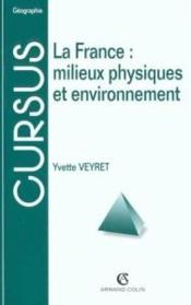 Geographie Physique De La France - Couverture - Format classique