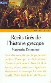 Recits Tires De L'Histoire Grecque - Intérieur - Format classique